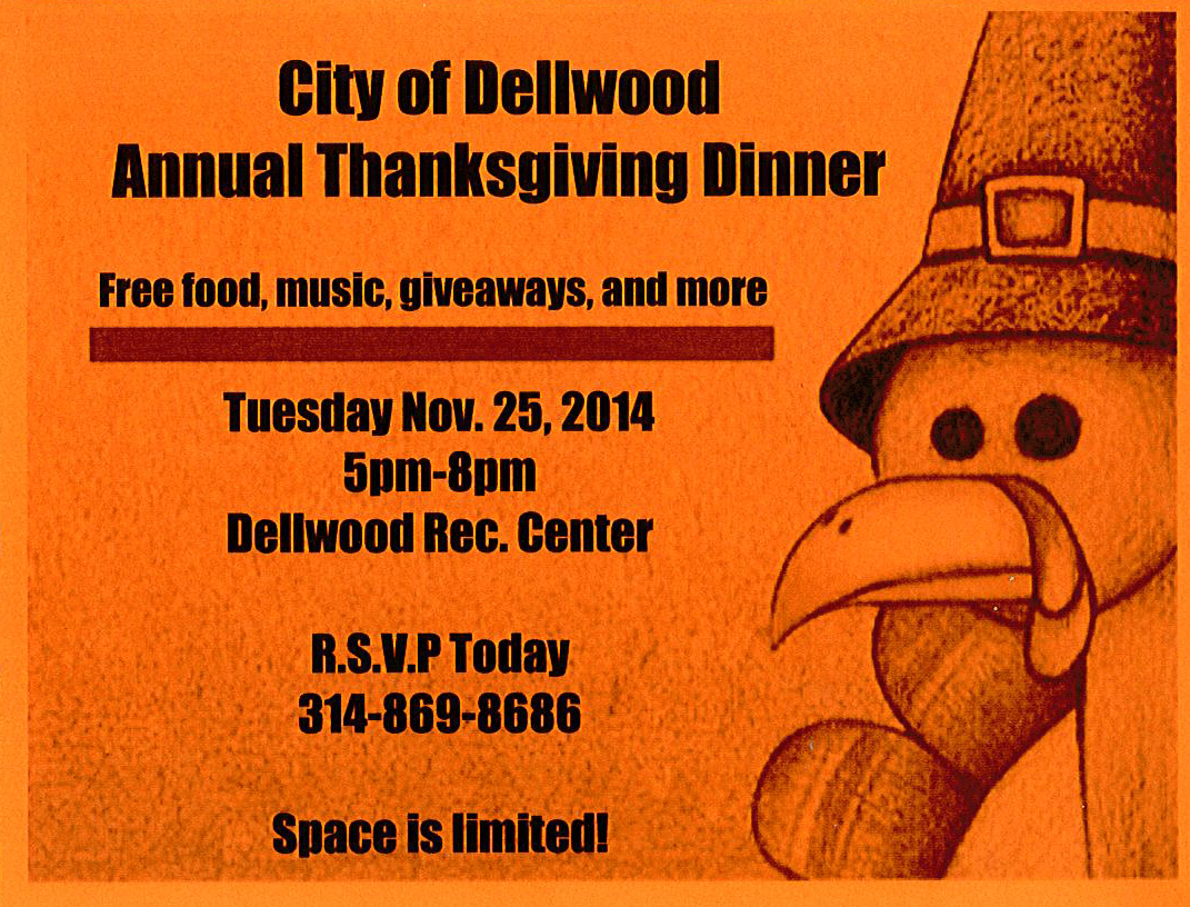 Dellwood Thanksgiving Dinner