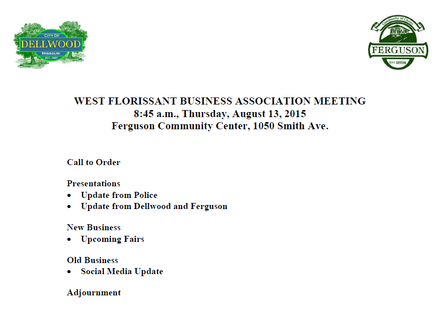 Business Associates Meeting